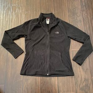 The north face women's full zip jacket size large